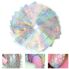 24sheets Vinyl Art Tip DIY Hollow Image Guide Nail Art Stencil Stickers Template