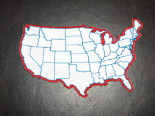 U.S. State Map Patch - Small