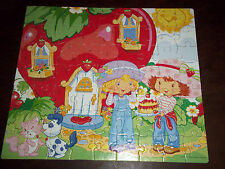 Strawberry Shortcake Jigsaw Puzzle 63 Pieces Rose Art