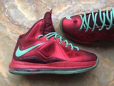 e713326ecfbc Nike Lebron X  Retail Price  Basketball 10 Christmas Pack Red Tourmaline sz  8.5