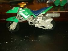 Ban Dai Mighty Morphin Power Rangers Green Ranger Dino Cycle