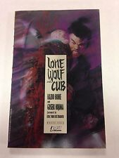 Lone Wolf And Cub Book One in dust jacket Frank Miller art on cover November 198