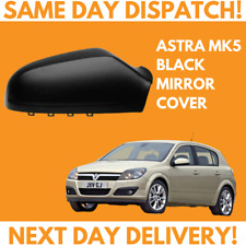 Vauxhall Astra H 2004-2009 Wing Mirror Cover Black O/S Drivers Side Right