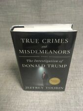 SIGNED - TRUE CRIMES and MISDEMEANORS by Jeffrey Toobin (2020-Hardcover)