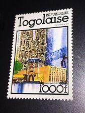 Togo 1978 Notre Dame 25th Anniversary of Elizabeth II Coronation MNH CV $10