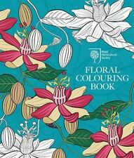 Rhs Floral Colouring Book (Paperback or Softback)