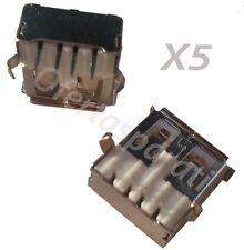 5x Conector USB TIPO A Hembra PCB 90 Grados - FEMALE A USB SOCKET CONNECTOR