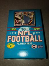 1990 Score NFL Footballs Cards Series 2 Box Fresh from Case
