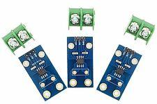 3x Acs712 Current Sensor Module With 20a Analogue Sensing Range For Arduino