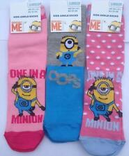 Girls' Novelty/Cartoon Cotton Blend Socks & Tights (2-16 Years)