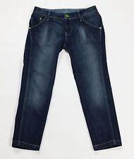 Meltin pot ines shorts jeans blu bermuda pinocchietti usati donna w28 42 T1724