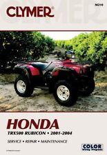 Honda TRX500FA Auto Rubicon 01-04 Workshop Manual