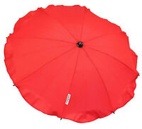 Universal Baby Parasol Waterproof Fit Maxi-Cosi Loola STROLLER Red