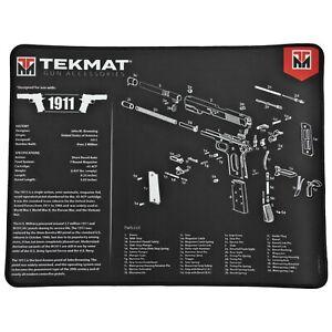 "TekMat, 1911 Premium Pistol Mat,  15""x20"", Black"