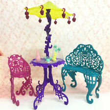 Amusement Bar Couch Chair Table Dessert Umbrella Kid Toy Doll House Furniture*~*