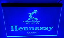hennessy cognac Bar Beer pub club 3d signs Led Neon Sign blue