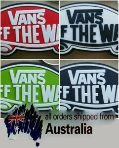 Vans Off The Wall Shoes Skating. Rubber Key ring. Quality 3D