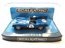 Scalextric Jaguar D-Type - 1957 Nurburgring DPR W/ Lights 1/32 Slot Car C3730