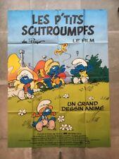 Affiche cinema - LES PTIT'S SCHTROUMPFS de PEYO  - 120*160 Cm