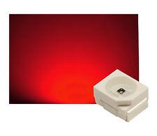 50 St. SMD LED PLCC 2 Sop - 2 3528 rojo 800 MCD!!! ultrahell
