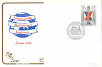 19 AUGUST 1986 COMMONWEALTH CONFERENCE COTSWOLD FIRST DAY COVER St MARGARETS SHS