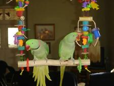 BIRD TOY THIS SWING CAN BE MADE FOR ANY PARROT CAGE AVIARY
