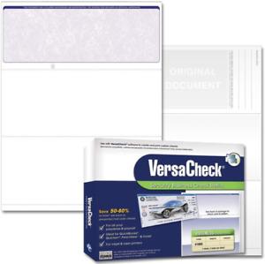 Blank Business Voucher Checks Classic Office Supplies Recordkeeping 250 Sheets