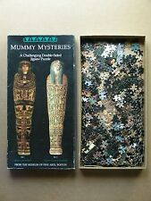 """BOSTON MUSEUM OF FINE ARTS """"MUMMY MYSTERIES"""" DOUBLE-SIDED JIGSAW PUZZLE"""