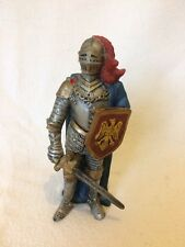 Medieval Knight In Armour With Sword & Shield Collectible Figurine Ornament