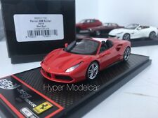 BBR Model 1/43 Ferrari 488 Spider 2015 Red Art. BBRC173C