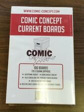 More details for 100 x current size comic concept comic book backing boards 30 day out of stock