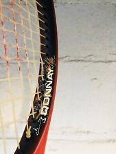 Donnay Graphite 75 Tennis Raquet Racket Wide Supermidsize Red Black Good Cond