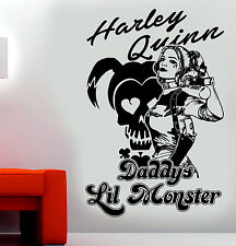 Harley Quinn Suicide Squad Daddys lil monster Wall Art Sticker/Decal