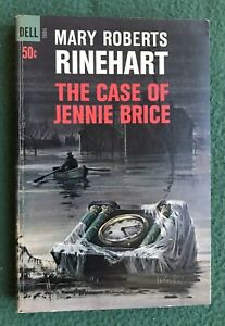 The Case of Jennie Brice by Mary Roberts Rinehart vintage Dell paperback crime
