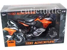 Automaxx 600050 2013 KTM 1190 Adventure Bike Motorcycle 1:12 Orange Black
