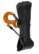ATV & UTV Synthetic Winch Rope - 4500lb rating (Grey)
