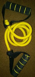 Golds Gym Jump Rope Fitness Exercise Yellow Black 4 Feet Long