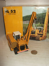 Conrad 2807/01, RL 52 Litronic Pipelayer for Liebherr Diecast in 1:50 scale.