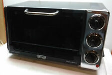 DeLonghi Electric 6-Slice Convection Toaster Oven Grill Bake Rotisserie Black
