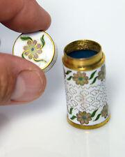 Vintage Cloisonne Trinket Jewelry Box