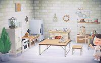 Animal Crossing New Horizons Catalog All Walls, Floors and ... on Animal Crossing Ironwood Kitchen  id=53300