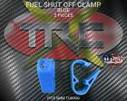 TRC2537 Blue RC Nitro Fuel Line Shut Off Clamps Fits 5MM Tubing BOGO FREE