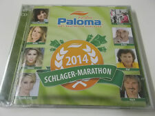 SCHLAGER MARATHON 2014: 2CD SET: NEU: PALM RECORDS: RADIO PALOMA