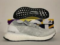 Adidas Women's UltraBOOST Uncaged Running Shoes White Grey [DB1132]
