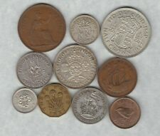 More details for 1937 set of 10 coins in fine or slightly better condition