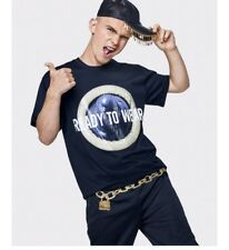 Moschino H&M READY TO WEAR Black t-shirt With Printed Design L large