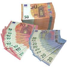 REPLICA BANCONOTE FINTE DA 100 50 20 10 EURO SET DA 20 PEZZI FICHES SEGNALIBRO
