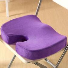 Memory Foam Coccyx Orthopedic Seat Cushion Car Office Home Chair Lumbar Posture
