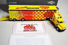 RARE GMP 1997 First Edition Mac Tools  Hauler 1/64 Transporter Truck trailer LE