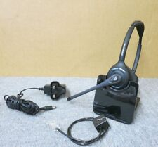 Plantronics WH350/A Over The Head DECT Binaural Headset Wireless C052A Cradle